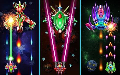 Hạm Đội: Đại Chiến Không Gian Ver. 32.7 MOD Menu APK | God Mode | Free Gold – Galaxy Attack: Alien Shooter MOD 6