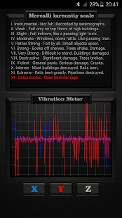 Vibration Meter PRO Screenshot