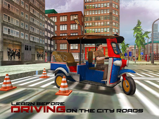 Tourist Transport Taxi: Tuk Tuk Driving Simulator  screenshots 6