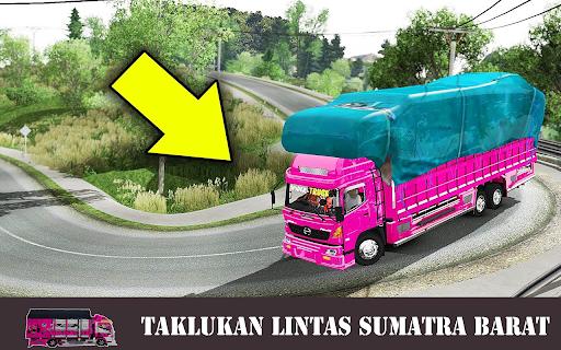 Truck Canter Simulator Indonesia 2021 - Anti Gosip 1.3 screenshots 5