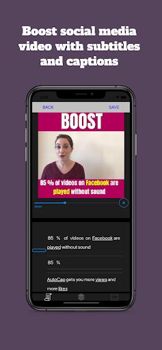 AutoCap - automatic video  captions and subtitles apktram screenshots 1