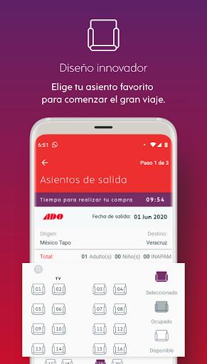 ADO Boletos de Autobu00fas 2.15.5 Screenshots 4