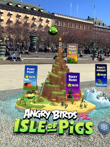 Angry Birds AR: Isle of Pigs  Screenshots 7