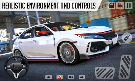 Drifting Car Simulator Civic - Real Car Drifting Apkfinish screenshots 1