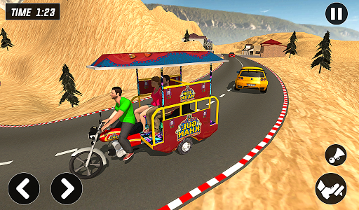 Chingchi Rickshaw Game:Tuk Tuk Parking Simulator screenshots 12
