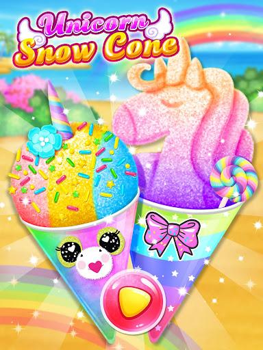 Unicorn Rainbow Snow Cone Desserts Maker screenshots 8