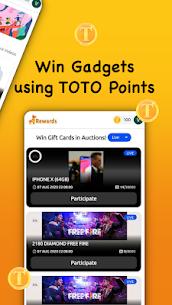 TOTO Rewards – Win Free Diamonds, Gift Cards, Cash 5