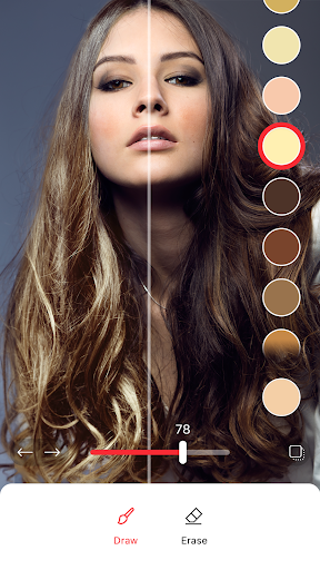Hair Color Changer: Change your hair color booth 1.0.7 Screenshots 1