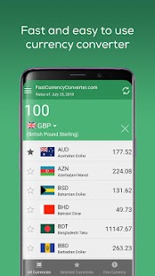 Fast Currency Converter Screenshot
