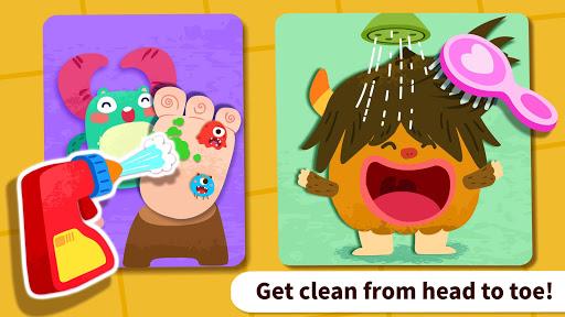 baby panda's monster spa  salon screenshot 3