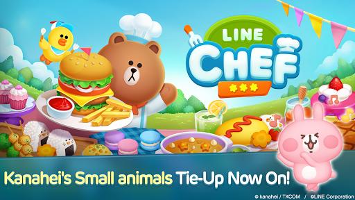 LINE CHEF Piske & Usagi Tie-Up On Now! 1.13.1.0 screenshots 1