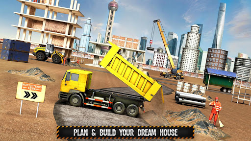 City Building Construction House: Excavator Games  screenshots 3