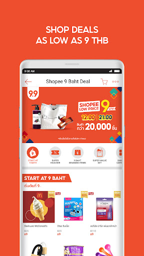 Shopee: 9.9 Super Shopping Day android2mod screenshots 6
