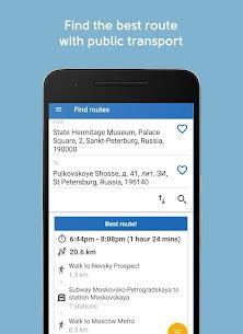 TransportSpb. Public transport routes in Spb 1.9.20 Android Mod + APK + Data 1