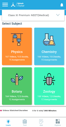 Aakash iTutor Learning App - NEET/JEE & Class 8-10 7.2.3 Screenshots 5