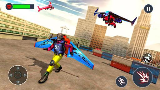 Flying Jetpack Hero Crime 3D Fighter Simulator  screenshots 3