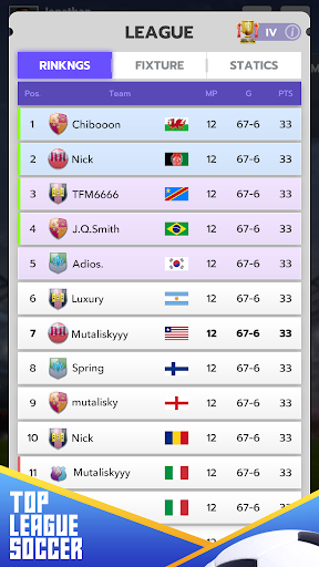 Top League Soccer  screenshots 6