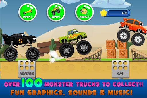 Monster Trucks Game for Kids 2  screenshots 2