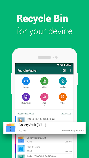 RecycleMaster: RecycleBin, File Recovery, Undelete  Screenshots 2