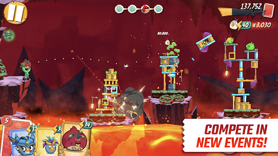 Angry Birds 2 MOD APK 2.58.0 (Unlimited Life/Gems/Energy/Life Pearls) 3