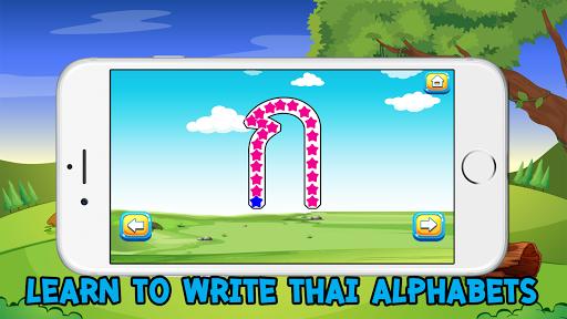 thai alphabet write tracing consonant vowel number screenshot 3