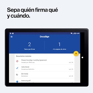 DocuSign Screenshot