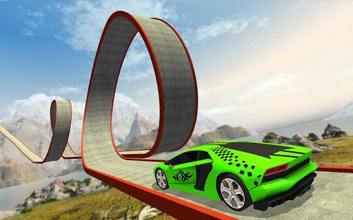 Impossible Car Stunt Game 2021 - Racing Car Games screenshots 11