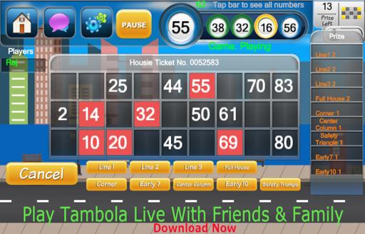 Housie Super: 90 Ball Bingo 2.4.3 screenshots 1