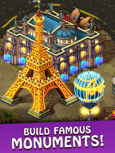 Magica Travel Agency: Match 3 Games, Jigsaw Puzzle  screenshots 9