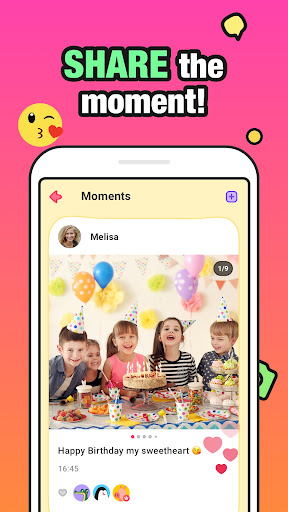 JusTalk Kids - Safe Video Chat and Messenger apktram screenshots 2