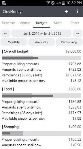 ClevMoney - Personal Finance apktram screenshots 3