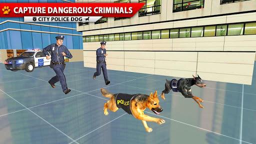 City Police Dog Simulator, 3D Police Dog Game 2020 apkpoly screenshots 4