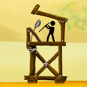 The Catapult — King of Mining Epic Stickman Castle