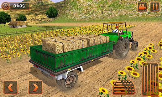 Farm Tractor Cargo Driving Simulator 20 screenshots 2
