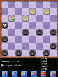 Checkers V+, solo and multiplayer checkers game