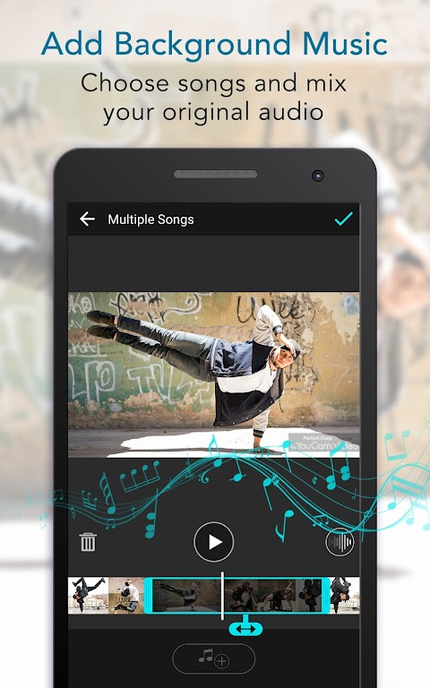 YouCam Cut – Easy Video Editor & Movie Maker  poster 3