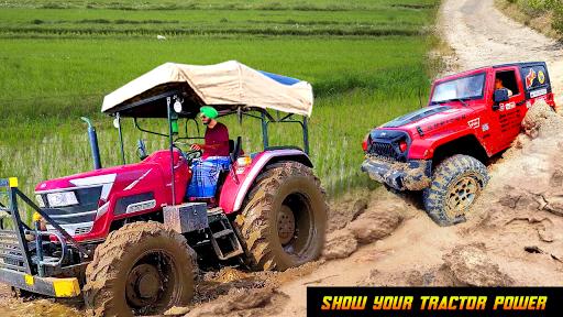 Heavy Tractor Pulling & Farming Drive Simulator screenshots 7