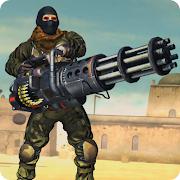 Desert Gunner Battlefield:Offline Machine Gun Game