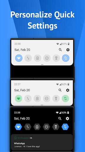 One Shade: Custom Notifications and Quick Settings apktram screenshots 2