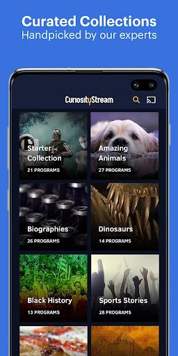 CuriosityStream - Stream Documentaries 3.7.1.10 screenshots 2