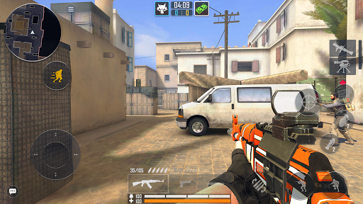Fire Strike Online - Free Shooter FPS apkpoly screenshots 1