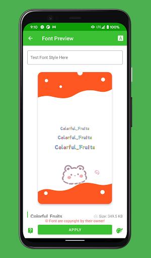 zFont 3 - Emoji & Custom Font Changer [No ROOT] 3.1.8 screenshots 1