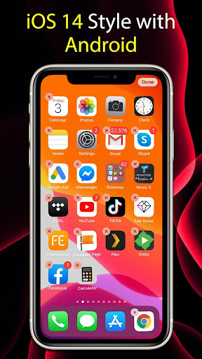 Launcher iOS 14  Screenshots 5