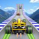 フォーミュラカーレーススタント - 3Dを駆動インポッシブル道路の車