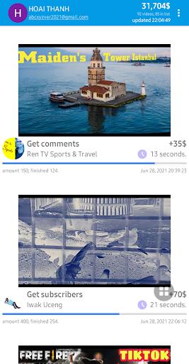 1000SUBS, increase  sub, view, like, watching-time apktram screenshots 2