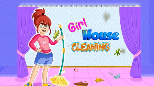 Girl House Cleaning: Messy Home Cleanup screenshots 11