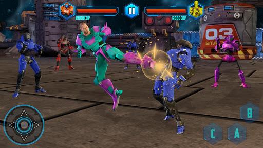 Robot X Street Battle: Beat Em Up Warrior Assassin apkmr screenshots 12