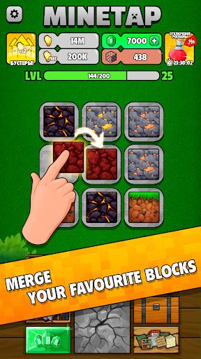 Minetap: Epic Clicker! Tap Crafting & mine heroes 1.5.5 screenshots 23