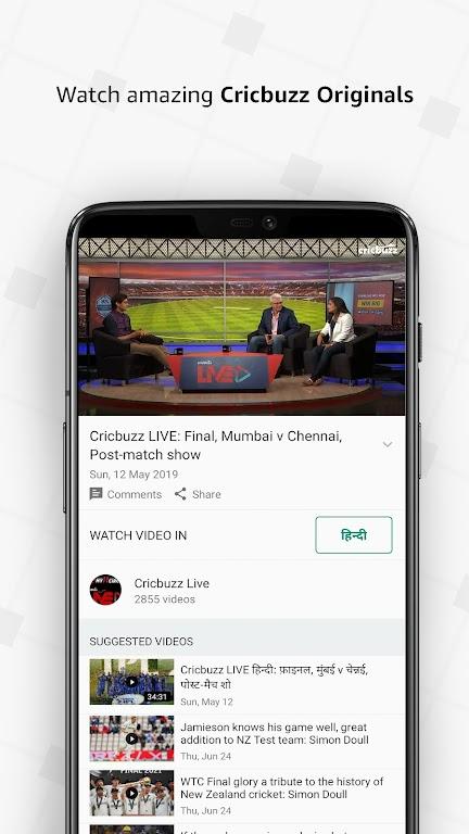 Cricbuzz - Live Cricket Scores & News  poster 6
