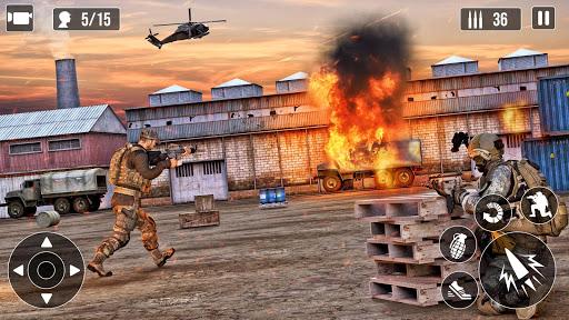 Army shooter Military Games : Real Commando Games 0.2.0 screenshots 9